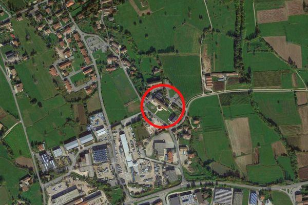 Immagine n0 - Planimetria - Vista aerea - Asta 7323