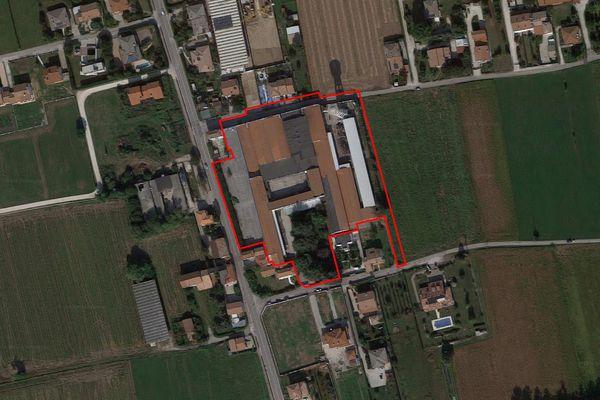 Immagine n1 - Planimetria - Vista aerea - Asta 7343