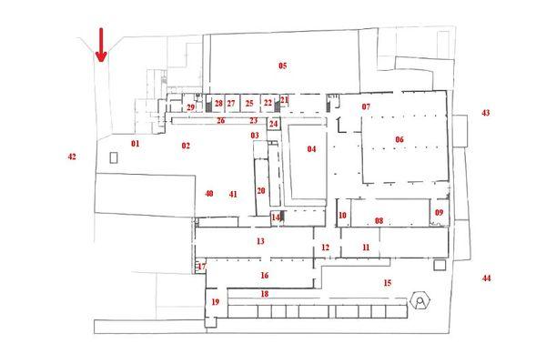 Immagine n0 - Planimetria - Piano terra - Asta 7343