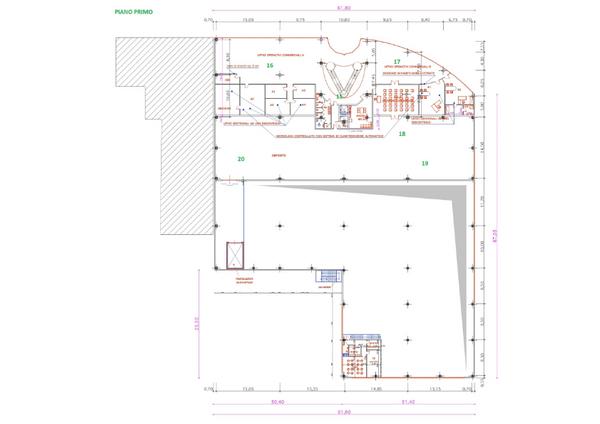 Immagine n2 - Planimetria - Piano primo - Asta 7348