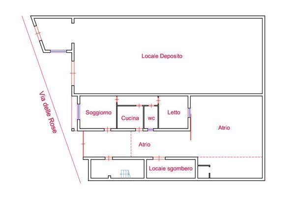 Immagine n0 - Planimetry - Ground floor - Asta 7370
