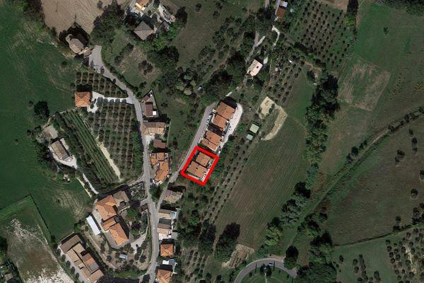 Immagine n0 - Planimetria - Vista aerea - Asta 7381