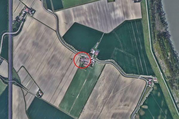 Immagine n0 - Planimetria - Vista aerea - Asta 7388