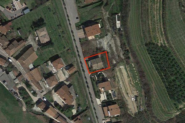 Immagine n1 - Planimetria - Vista aerea - Asta 7389