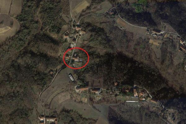 Immagine n0 - Planimetria - Vista aerea - Asta 7398