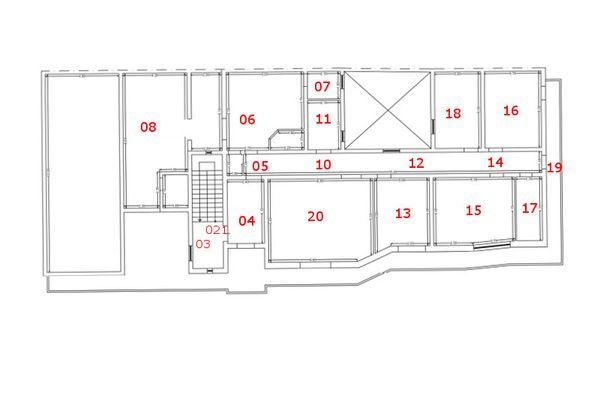 Immagine n0 - Planimetria - Piano primo - Asta 7401