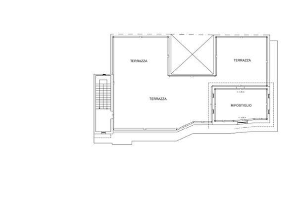 Immagine n0 - Planimetria - Piano secondo - Asta 7401
