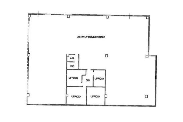 Immagine n0 - Planimetria - Piano primo - Asta 7410