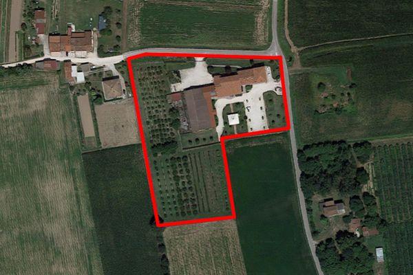 Immagine n0 - Planimetria - Vista aerea - Asta 7414