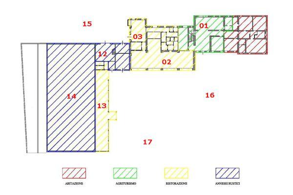 Immagine n0 - Planimetria - Piano terra - Asta 7414