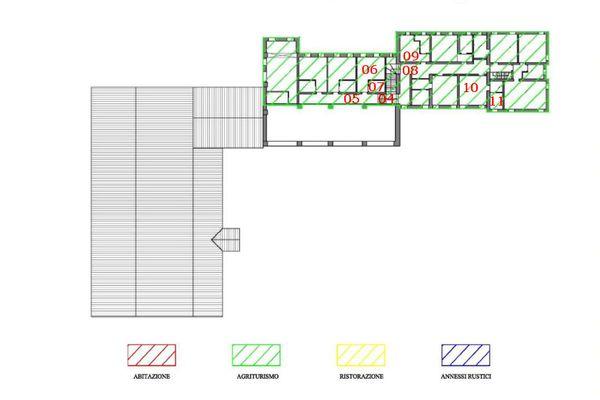 Immagine n0 - Planimetria - Piano primo - Asta 7414