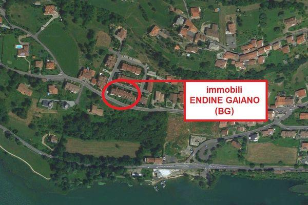 Immagine n0 - Planimetria - Vista aerea - ENDINE GAIANO (BG) - Asta 7418