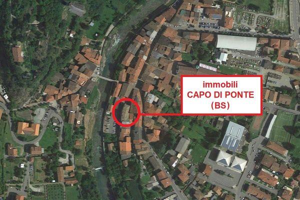 Immagine n1 - Planimetria - Vista aerea - CAPO DI PONTE (BS) - Asta 7418