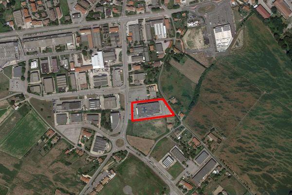 Immagine n0 - Planimetria - Vista aerea - Asta 7423