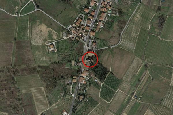 Immagine n0 - Planimetria - Vista aerea - Asta 7443