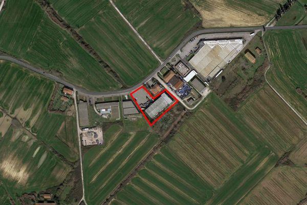 Immagine n0 - Planimetria - Vista aerea - Asta 7445