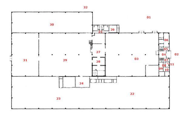 Immagine n1 - Planimetria - Piano terra - Asta 7448