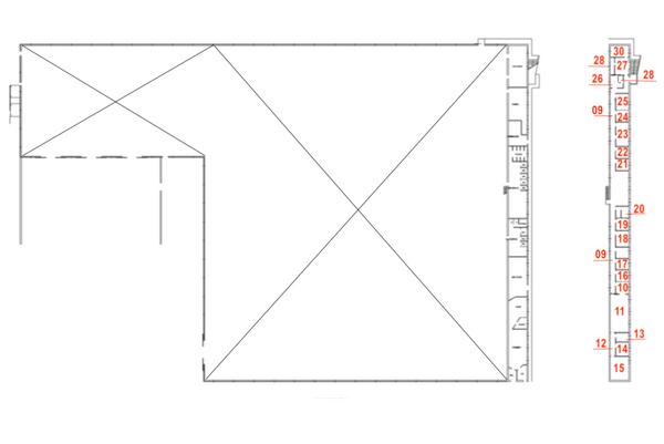 Immagine n0 - Planimetria - Piano primo - Asta 7456