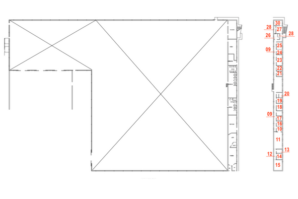 Immagine n0 - Planimetry - First floor - Asta 7456