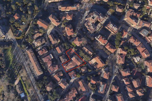 Immagine n1 - Planimetria - Vista aerea - Asta 7458