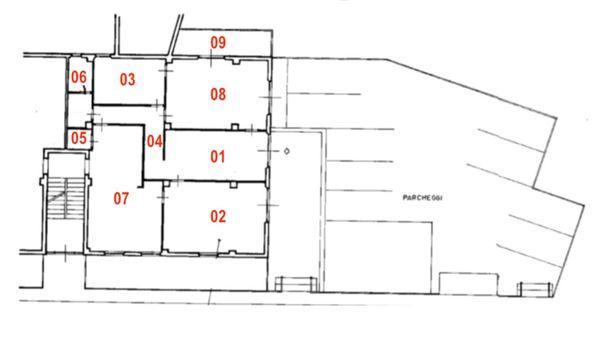 Immagine n0 - Planimetria - Piano terra - Asta 7458