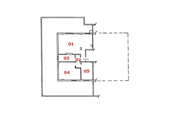 Immagine n1 - Planimetria - Piano terzo - Asta 7472
