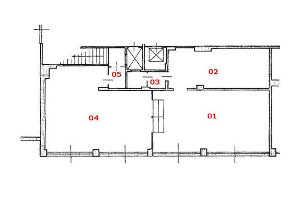 Immagine n1 - Planimetria - Piano terra - Asta 7479