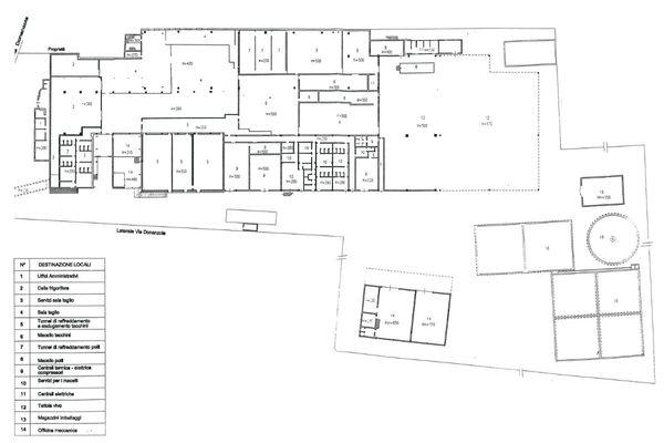 Immagine n1 - Planimetria - Piano terra - Asta 7513