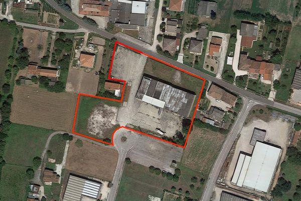 Immagine n0 - Planimetria - Vista aerea - Asta 7514