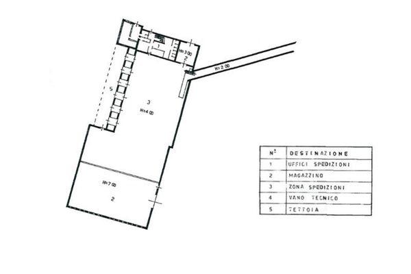 Immagine n1 - Planimetria - Piano terra - Asta 7514