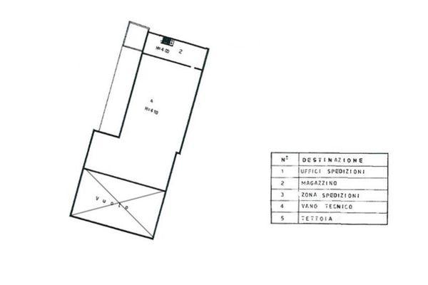 Immagine n2 - Planimetria - Piano primo - Asta 7514