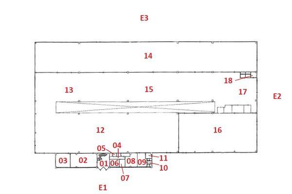 Immagine n0 - Planimetria - Piano terra - Asta 7517