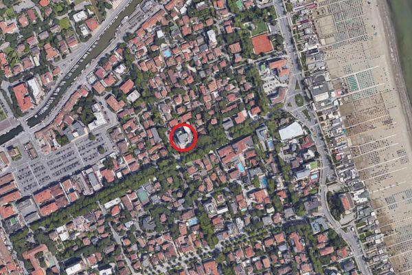 Immagine n1 - Planimetria - Vista aerea - Asta 7520