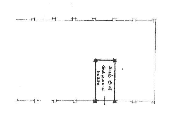 Immagine n0 - Planimetria - Piano seminterrato - Asta 7520