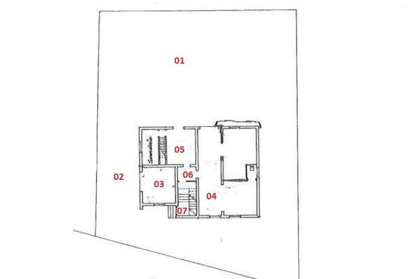 Immagine n1 - Planimetry - Ground floor - Asta 7523