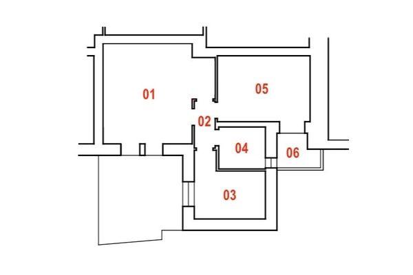 Immagine n0 - Planimetria - Piano terra - Asta 7533