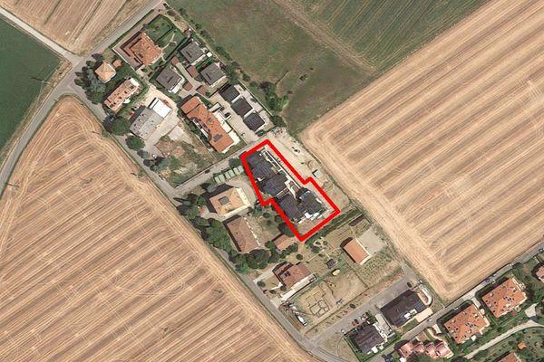 Immagine n1 - Planimetria - Vista aerea - Asta 7537