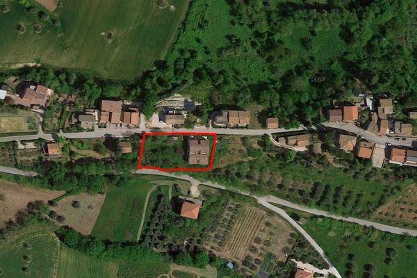 Immagine n1 - Planimetria - Vista aerea - Asta 7540