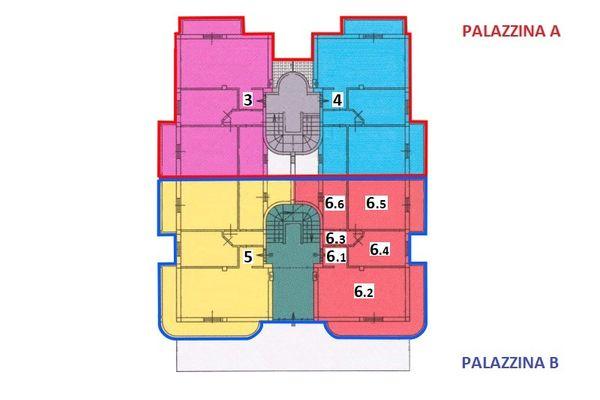 Immagine n1 - Planimetria - Piano terra - Asta 7540