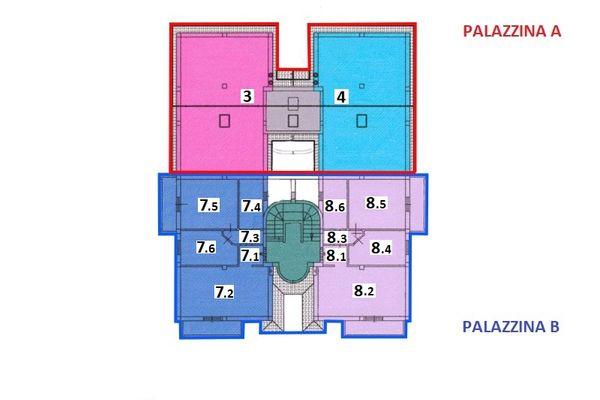 Immagine n0 - Planimetria - Piano primo - Asta 7540