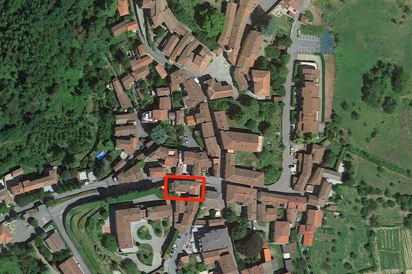Immagine n0 - Planimetria - Vista aerea - Asta 7542