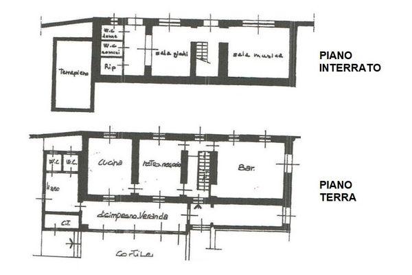 Immagine n2 - Planimetria - Subalterno 8 - Asta 7542