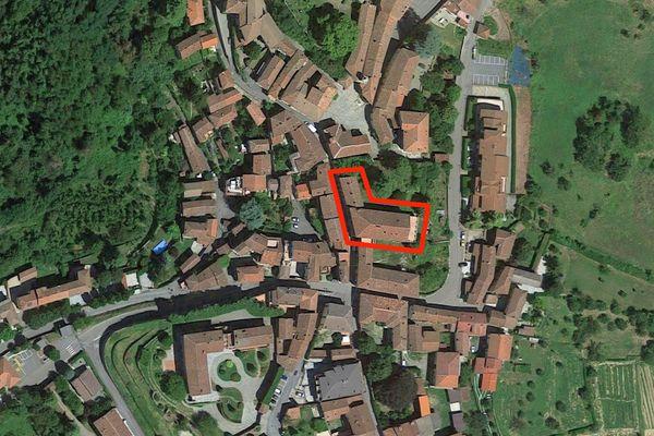 Immagine n1 - Planimetria - Vista aerea - Asta 7544
