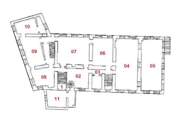 Immagine n1 - Planimetria - Piano primo - Asta 7544