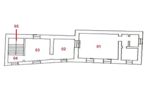 Immagine n1 - Planimetria - Piano primo - Asta 7546
