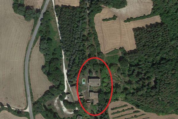 Immagine n2 - Planimetria - Vista aerea - Asta 7559