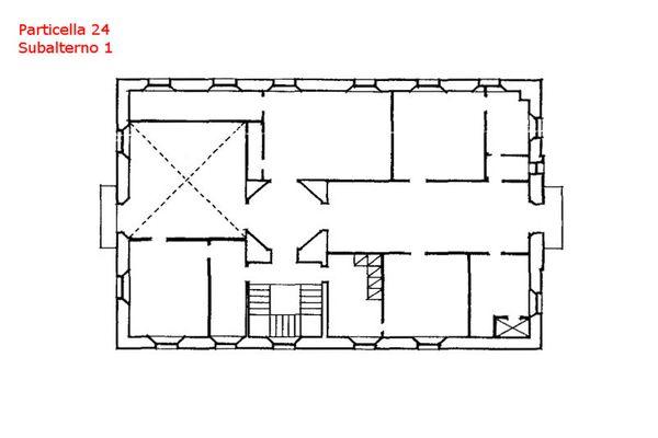 Immagine n0 - Planimetria - Piano primo - Villa - Asta 7559