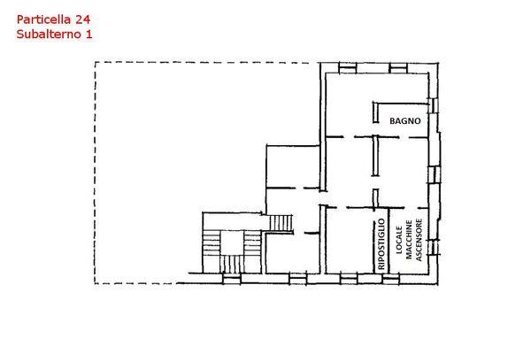 Immagine n0 - Planimetria - Piano secondo - Villa - Asta 7559