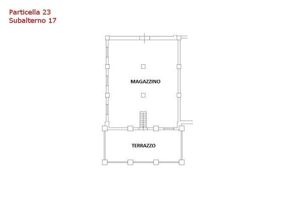 Immagine n0 - Planimetria - Piano primo - Sub 17 - Asta 7559