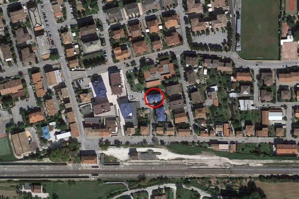 Immagine n0 - Planimetria - Vista aerea - Asta 7564